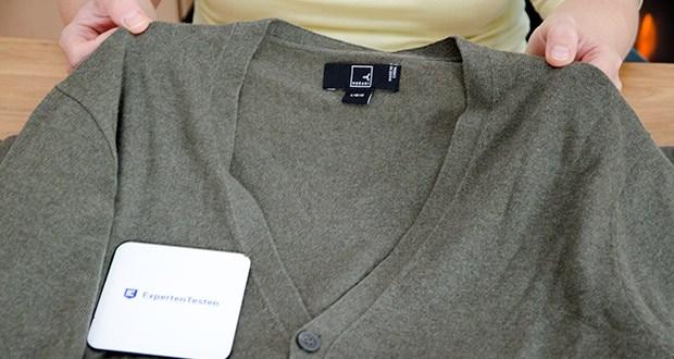 MERAKI Herren Strickjacke im Test - diese Strickjacke aus Baumwolle ist ein zeitlos-eleganter Allrounder für Drunter und Drüber