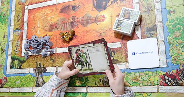 Pegasus Spiele - Talisman - Die Magische Suche im Test - tief im Reich Talisman begeben sich die Spieler als Krieger, Priester, Zauberer oder als einer der elf anderen Helden auf die gefahrvolle Suche nach der legendären Krone der Herrschaft