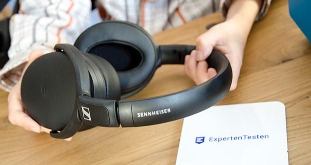 Sennheiser HD 350BT Kabelloser faltbarer Kopfhörer im Test - der stylische und gleichzeitig robuste, vielseitige Kopfhörer ist ein großartiger Begleiter für bessere Klangerlebnisse – ob unterwegs oder zu Hause