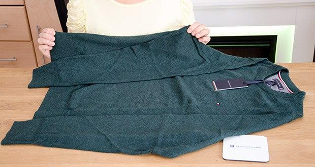 Tommy Hilfiger Herren Pima Cotton Cashmere Crew Neck Pullover im Test - lässt sich sehr leicht tragen