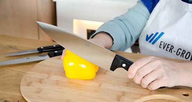 ZWILLING Twin Chef Messer-Set, 3-teilig im Test - ergonomischer und rutschsicherer Griff