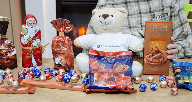Lindt Weihnachtliche Kostbarkeiten Schokoladengeschenk im Test - ideal als Weihnachtsgeschenk für die ganze Familie, Geschäftspartner oder einfach zum Teilen mit Freunden