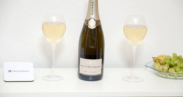 Louis Roederer Champagne Brut Premier im Test - elegant mit reife Fruchtfülle