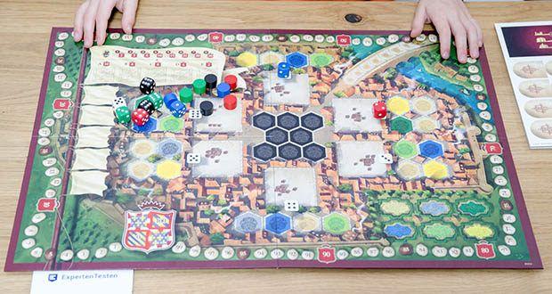 Ravensburger Alea - The Castles of Burgundy im Test - ein Strategiespiel-Klassiker unter den modernen Strategiespielen, jetzt neu aufgelegt mit über 10 Erweiterungen