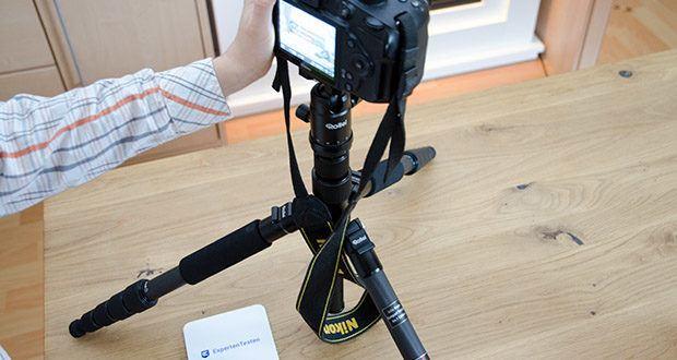 Rollei Compact Traveler No.1 Reisestativ im Test - ist speziell für die Reise- und Outdoor-Fotografie konzipiert