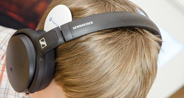 Sennheiser HD 350BT Kabelloser faltbarer Kopfhörer im Test - großartiger kabelloser Klang mit tiefem, dynamischem Bass und Unterstützung anspruchsvoller Codecs wie AAC und AptX Low Latency
