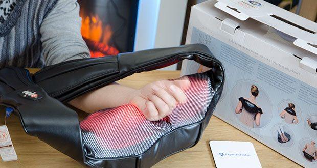 Invitalis Vitalymed Flexi Massagegerät im Test - Massagegerät für Nacken, Schultern, Rücken, Füße und Beine