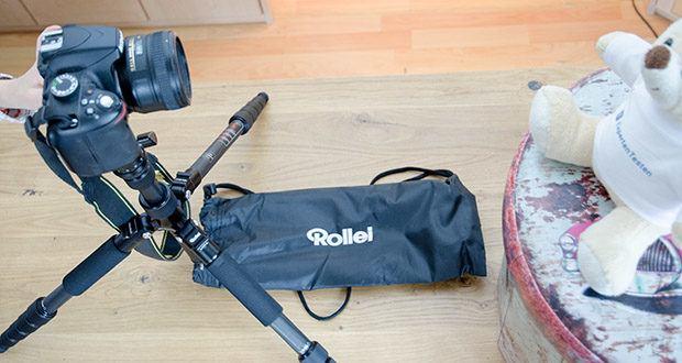 Rollei Compact Traveler No.1 Reisestativ im Test - ideal um auf jeder Reise dabei zu sein