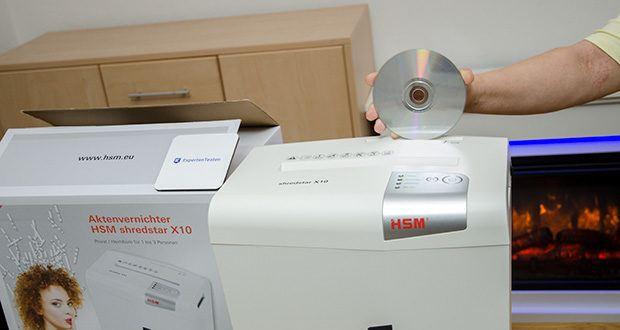 HSM shredstar X10 Aktenvernichter im Test - professioneller Datenschutz am Arbeitsplatz