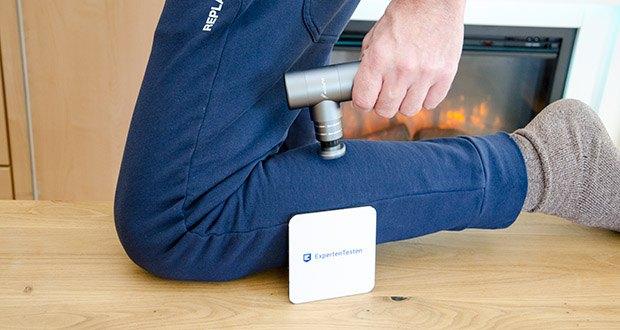 addsfit Massagepistole Mini im Test - 3 Geschwindigkeiten: 1600/2500/3000 U/MIN