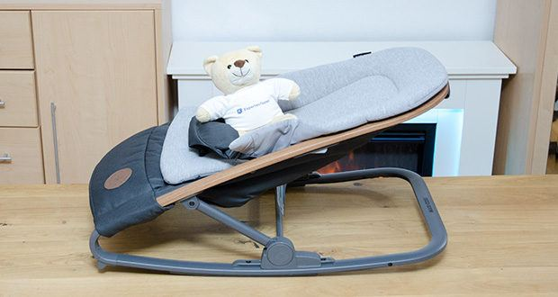 Maxi-Cosi Kori 2-in-1 Babywippe im Test - durch das intelligente Design der Maxi-Cosi Kori lässt sich die tragbare Babyschaukel leicht zusammenklappen und aufbewahren