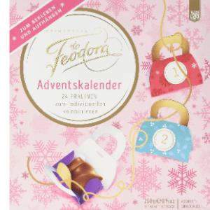 Ein Feodora Chocolade Adventskalender Testvergleich
