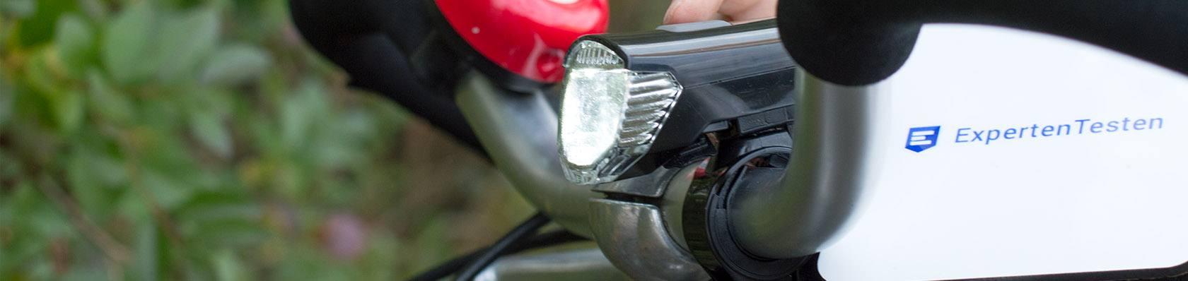 Fahrradbeleuchtungen im Test auf ExpertenTesten.de