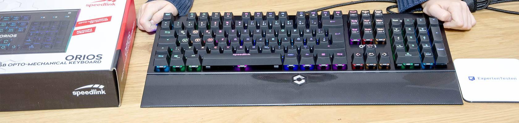 mechanischen Tastaturen im Test auf ExpertenTesten.de
