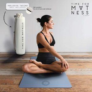 Pflege einer Yogamatte aus dem Test