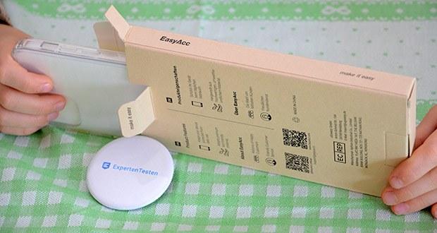 EasyAcc IPhone 12 durchsichtige Hülle im Test - kompatibel mit das iPhone 12 und iPhone 12 Pro. Telefon kann mit der eleganten Hülle drahtlos aufgeladen werden