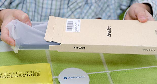 EasyAcc IPhone 12 Hülle schwarz im Test - Produktabmessungen : 16.1 x 7.3 x 1 cm; Gewicht: 60 Gramm