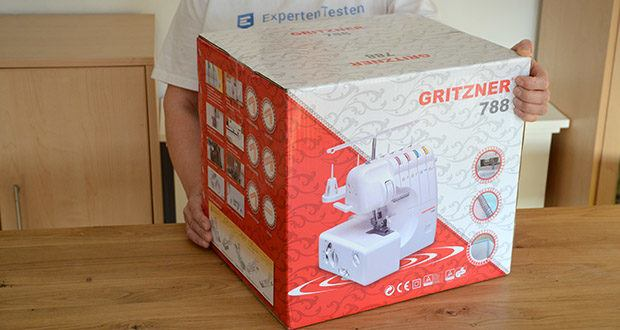Gritzner Overlock 788 im Test - Special Edition mit LED Beleuchtung und Handbuch