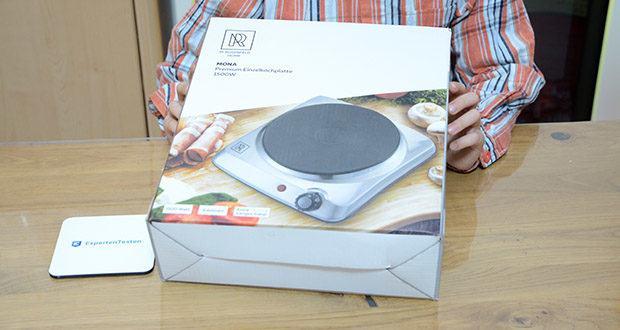 M.Rosenfeld Premium Einzelkochplatte Mona im Test - 1500 Watt Leistung