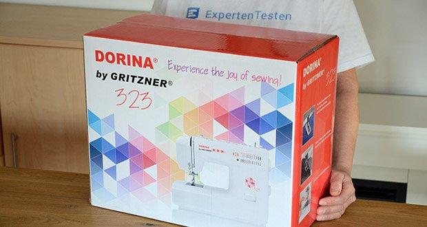 Gritzner Dorina Freiarm-Nähmaschine 323 im Test - Handmade-Klamotten werden mit dieser Nähmaschine ein wahres Vergnügen