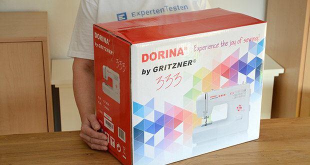 Gritzner Dorina Nähmaschine 333 im Test - bietet alles, was das Nähherz begehrt