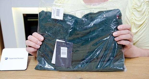 Tommy Hilfiger Herren Organic Cotton Blend Zip Mock Pullover im Test - Modellnummer: MW0MW15434