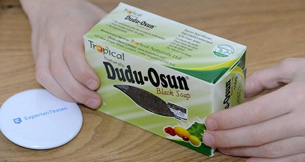 Tropical Naturals Bio Dudu-Osun Schwarze Seife im Test - in traditioneller Handarbeit produziert