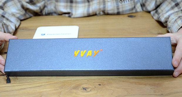 VVAY Flexibles Elektro Stabfeuerzeug im Test - im Geschenkbox