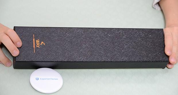 VVAY Flexibles Gas Jetflamme Stabfeuerzeug im Test - im Geschenkbox geliefert