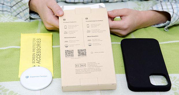 EasyAcc IPhone 12 Hülle schwarz im Test - entworfen Kompatibel mit täglichen Komfort und Schutz
