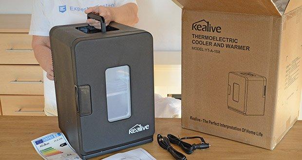 Kealive Mini Kühlschrank im Test - Kühl- und Heizfunktionen