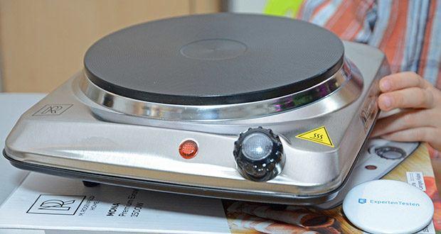 M.Rosenfeld Premium Einzelkochplatte Mona im Test - 6 Leistungsstufen