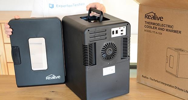 Kealive Mini Kühlschrank im Test - geräuscharme thermoelektrische Kühltechnologie minimiert Geräusche