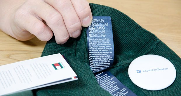 Tommy Hilfiger Herren Organic Cotton Blend Zip Mock Pullover im Test - Zusammensetzung: 89% Baumwolle, 11% Seide