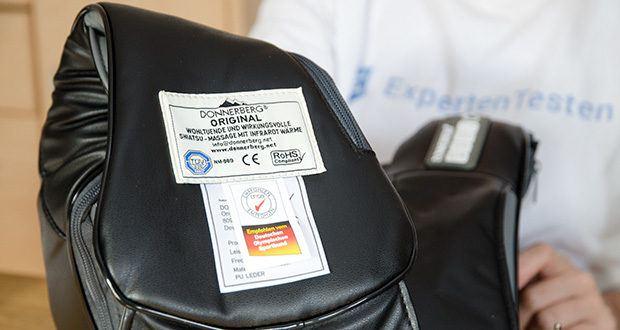 Donnerberg Nackenmassagegerät Premium NM089 im Test - wird kontinuierlich TÜV SÜD geprüft
