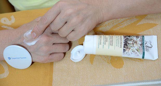 Ovis Handcreme Edelweiss mit Schafmilch im Test - pflegt und beruhigt die Haut der Hände
