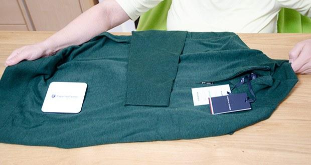 Tommy Hilfiger Herren Organic Cotton Blend Zip Mock Pullover im Test - mit einer hochwertigen Verarbeitung