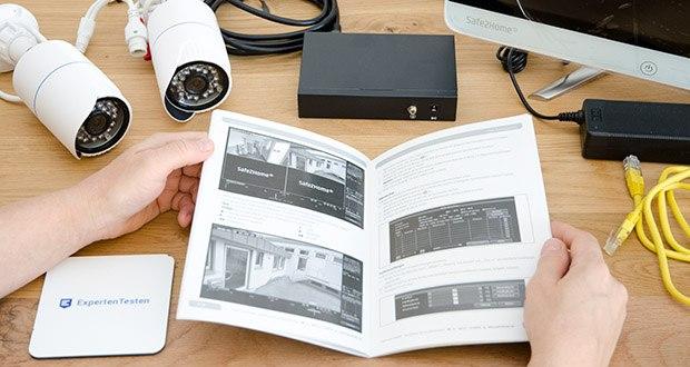 Safe2Home Funk Überwachungskamera Set im Test - Benachrichtigung bei Bewegung möglich