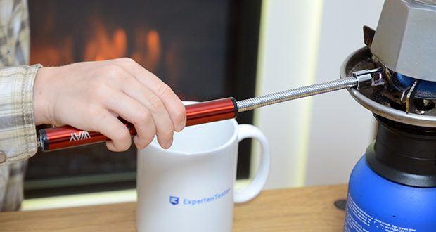 VVAY Flexibles Elektro Stabfeuerzeug im Test - kein Gas und kein Benzin erforderlich