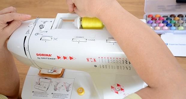 Gritzner Dorina Freiarm-Nähmaschine 323 im Test - 23 Nutz- und Zierstiche