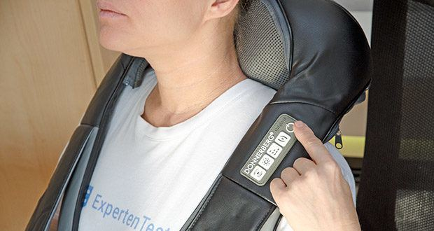Donnerberg Nackenmassagegerät Premium NM089 im Test - wählbare Vibrationsmassage, 2-stufige Infrarotwärme