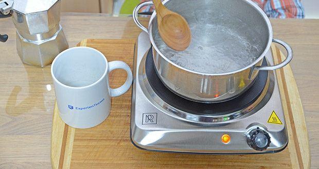 M.Rosenfeld Premium Einzelkochplatte Mona im Test - ein schnelles und praktisches Kochfeld zum Kochen in jeder Komplexität