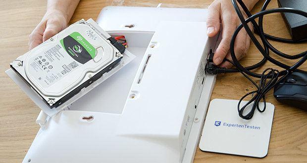 Safe2Home Funk Überwachungskamera Set im Test - mit 500 GB HDD (Festplatte) für Aufnahmen