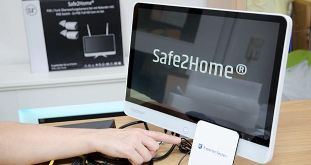 Safe2Home Funk Überwachungskamera Set im Test - gleichzeitige Aufnahme, Wiedergabe und USB Backup über den Safe2Home NVR All-in-One Monitor möglich