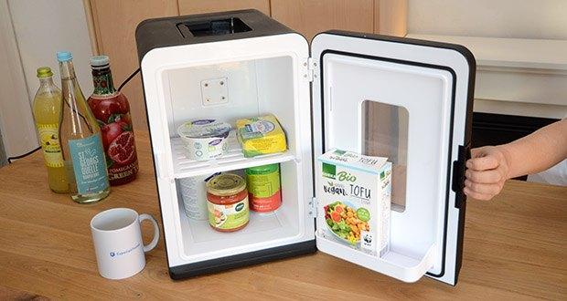 Kealive Mini Kühlschrank im Test - mit ECO-Energiesparmodus