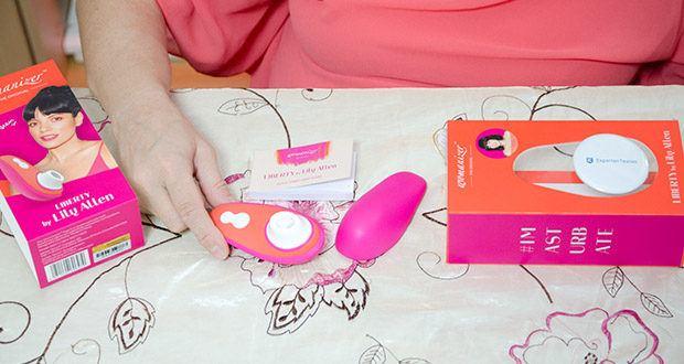 Womanizer Liberty by Lily Allen im Text - die ganz persönliche Handschrift von Lily Allen macht diese LIBERTY Special Edition zur schönsten und mutigsten Art, Selbstliebe zu zelebrieren