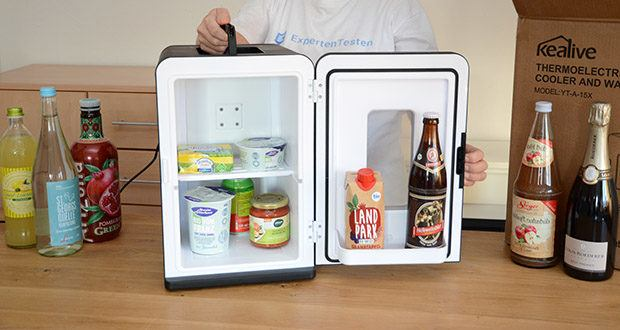Kealive Mini Kühlschrank im Test - energiesparender Minikühlschrank