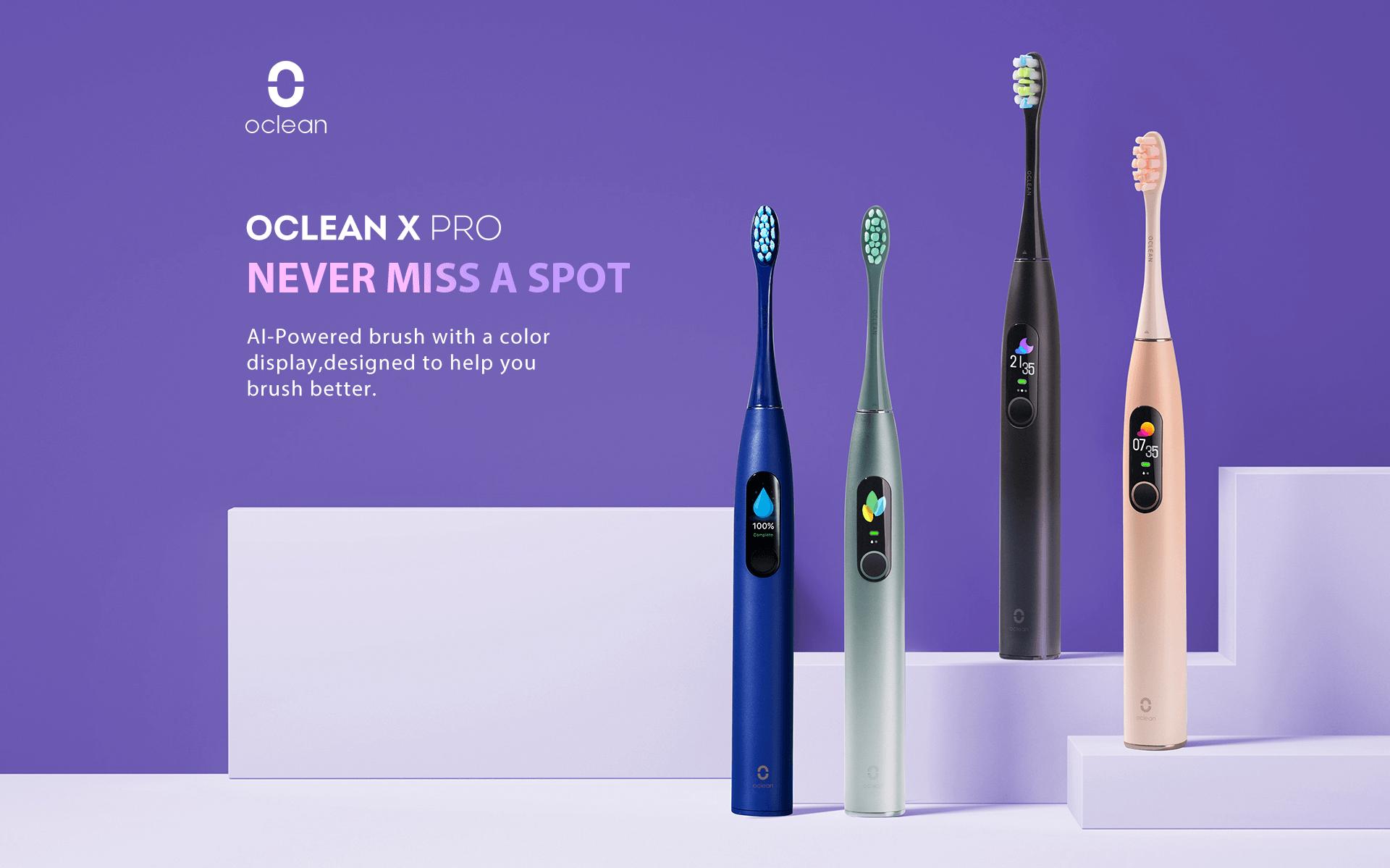 elektrische Zahnbürsten von Oclean