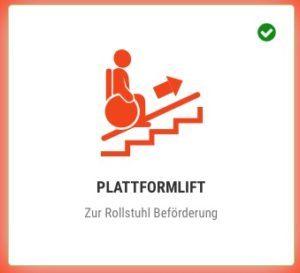 Piktogramm Plattformlift