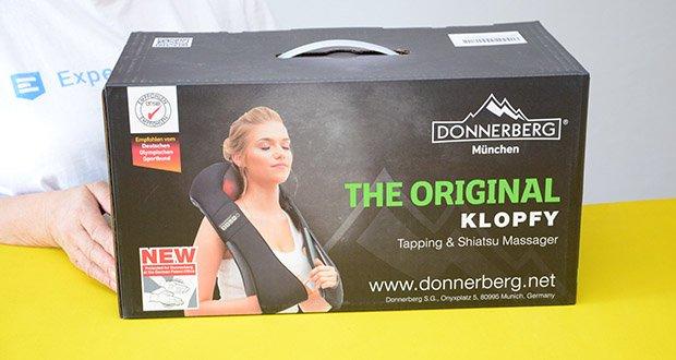 Donnerberg Klopfy NM-088 Nackenmassagegerät im Test - 7 Jahre Herstellergarantie